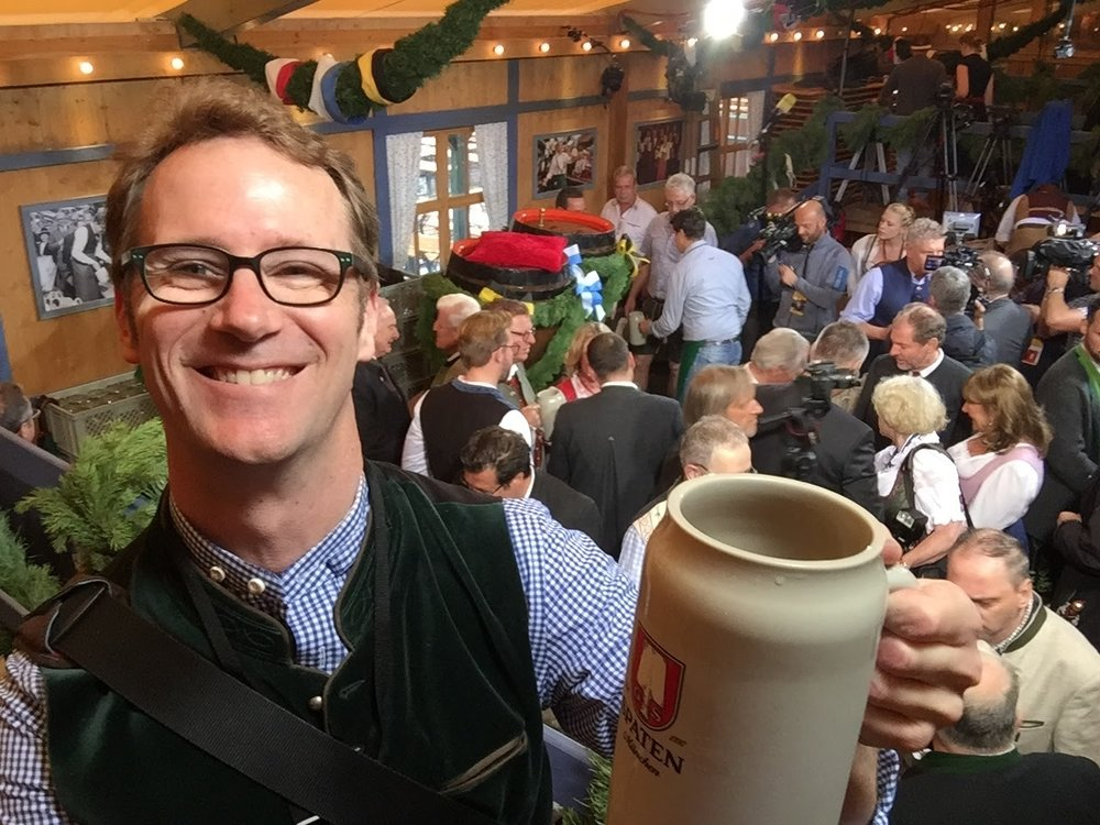 O'zapft is! - Matt was in Munich for Oktoberfest last year and had the honour to attend the keg tapping ceremony in the Schottenhamel tent. It is only after the Munich mayor taps the first keg that all other tents can start to serve and Oktoberfest gets under way. Click the image to read Matt's account for GoodFood.com.au.