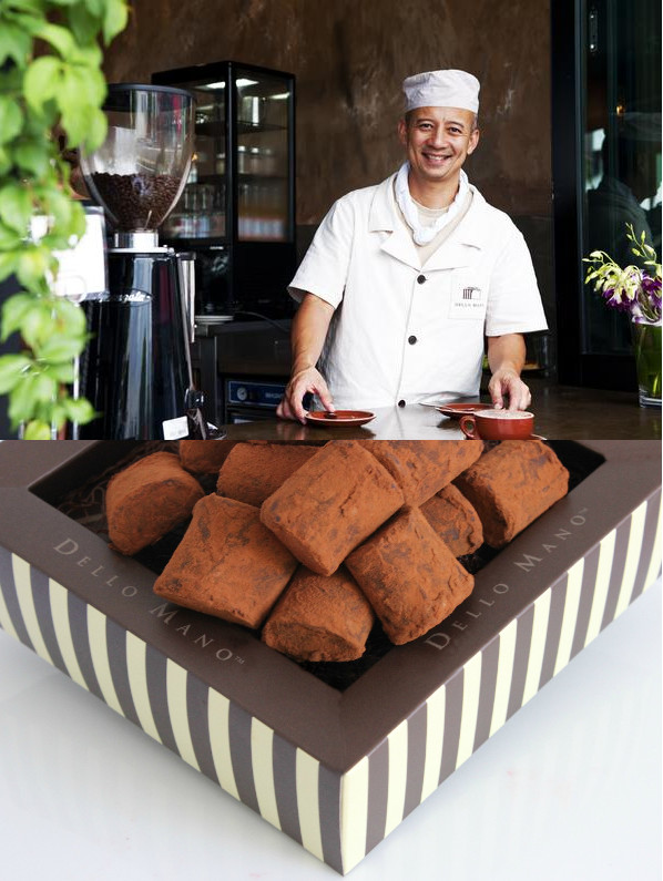 Chocolatier - Don't just taste the chocolate, make the chocolate. We work with chocolate makers such as Dello Mano who can join us to teach about chocolate and also host truffle rolling demonstrations, where you get to roll your own chocolate truffles and eat them, matched with a beer.