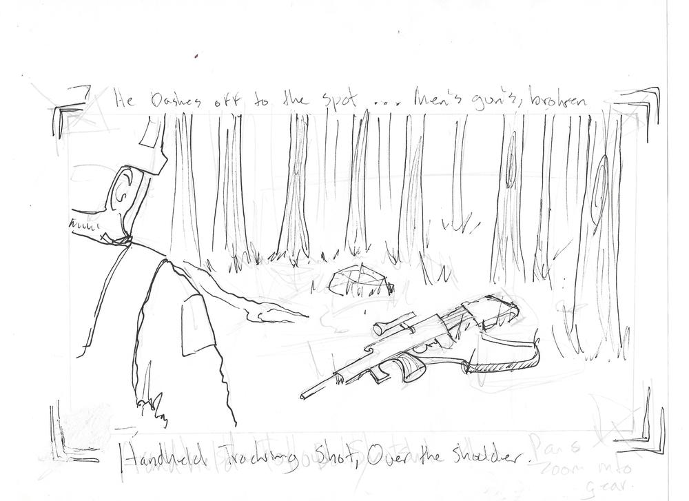 Storyboards for a production by Matt Sommerfield http://nightowlpictures.net