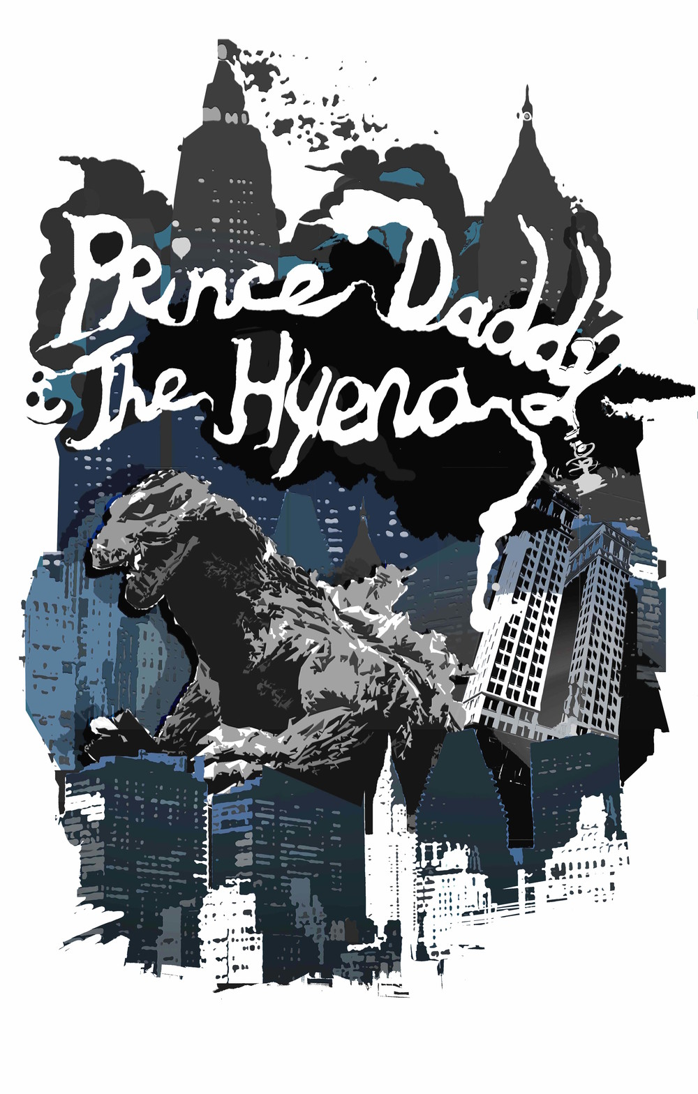 Prince Daddy & The Hyena T-shirt Design 2016   https://princedaddyandthehyena.bandcamp.com