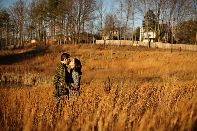 tall grass kissing
