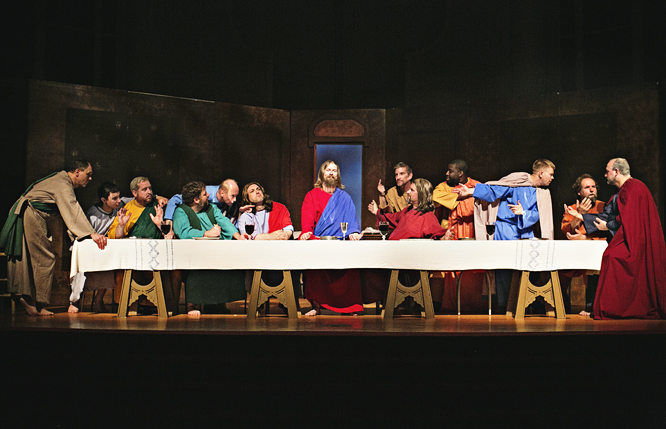 Tha Last Supper First Baptist Church Woodbridge