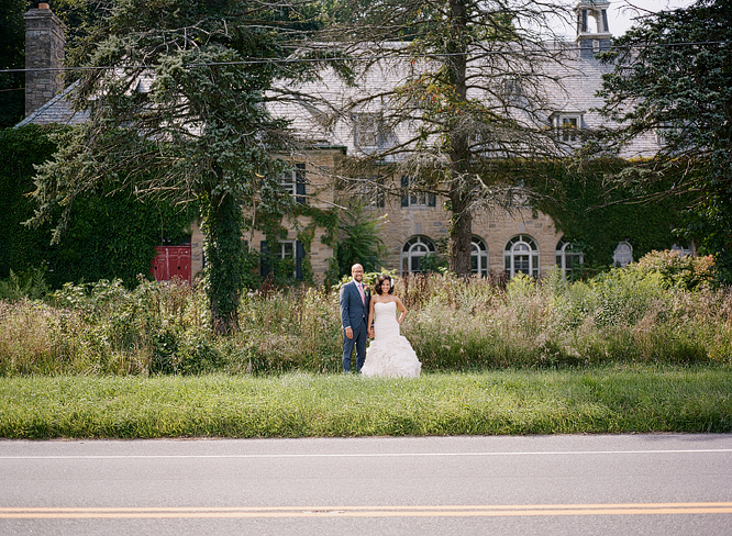 Bride and Groom Portraits Perona Farms New Jersey