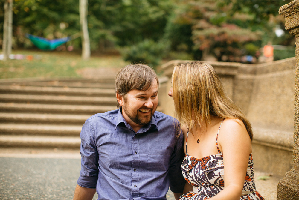 Meridian Hill Park | Engagement Photography | Tim Riddick Photography | Washington DC