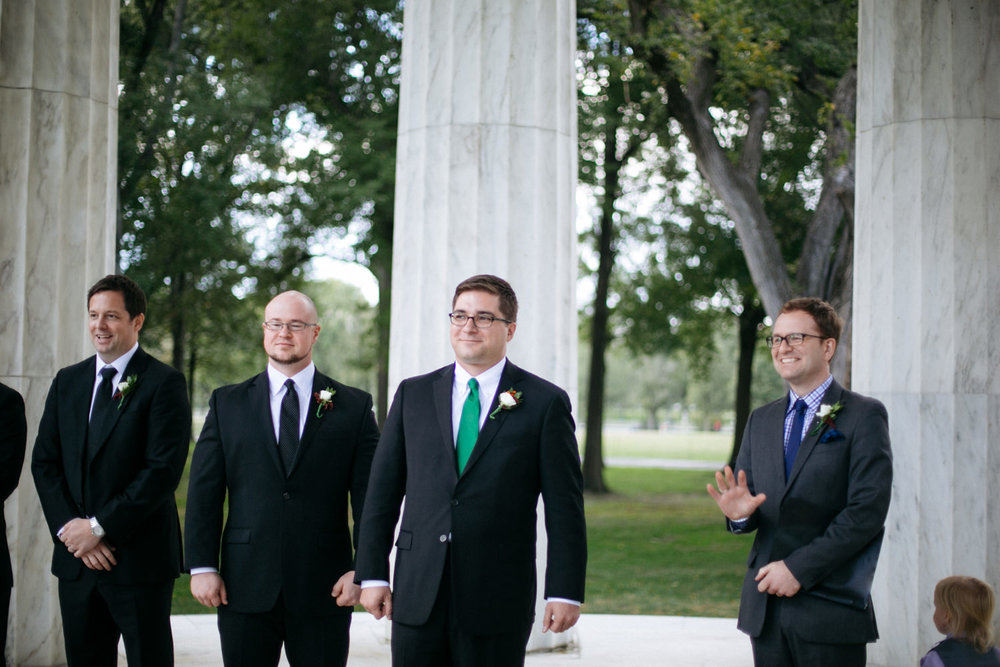 DC War Memorial Wedding | Washington DC Wedding Photographer | Tim Riddick Photography