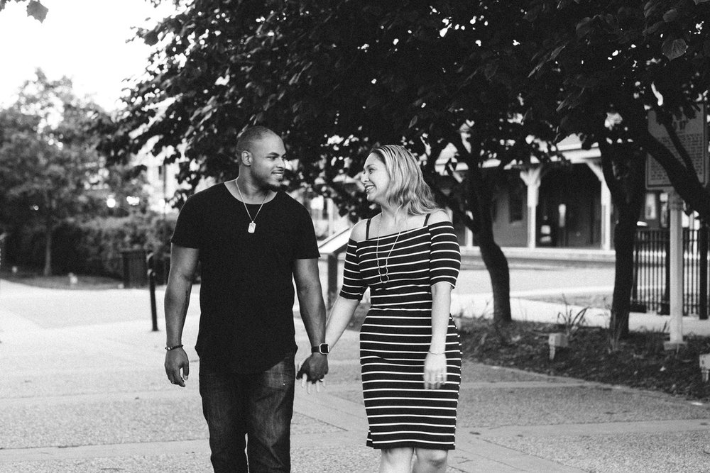 Old Town Manassas engagement session | Washington DC Wedding Photographer | Tim Riddick Photography