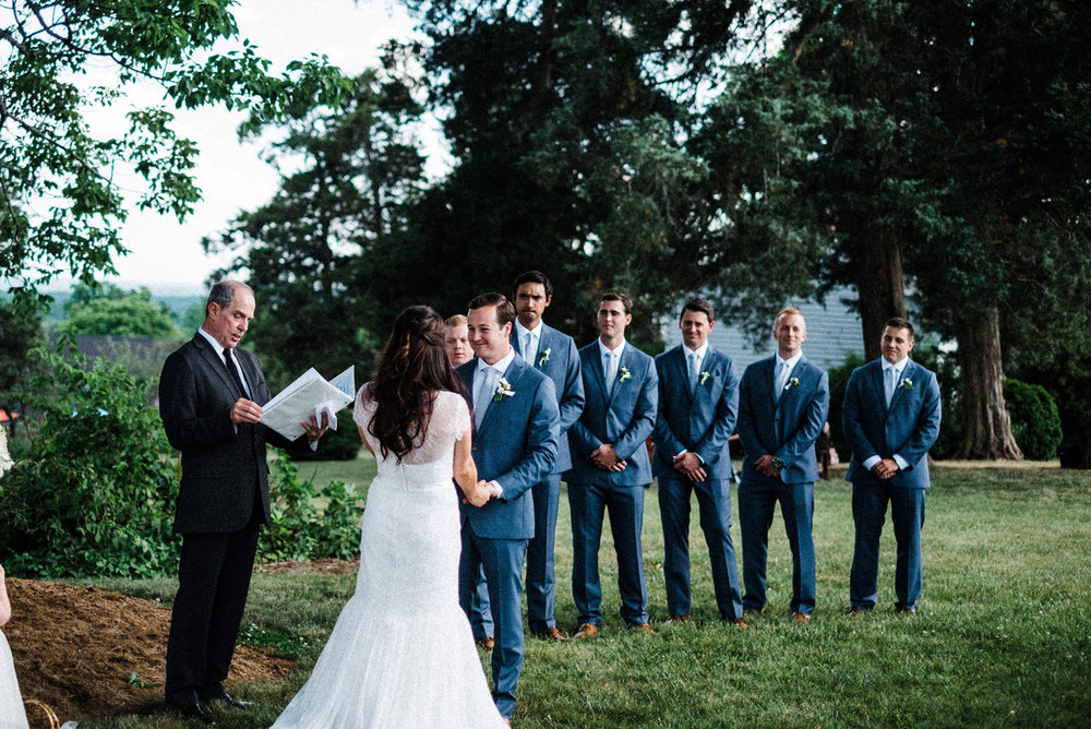 Charlottesville Film Wedding Photographer | Washington DC Wedding Photographer | Blenheim Vineyards