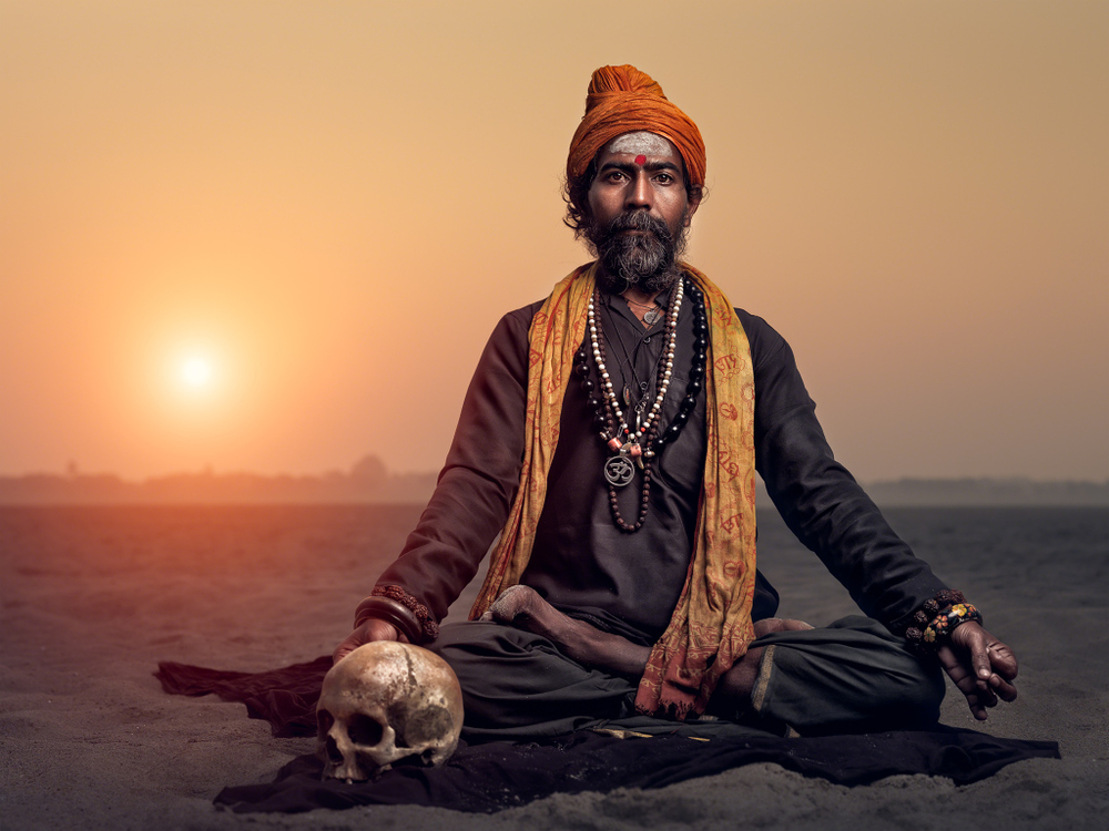Varanasi Sadhu, Photo by Gerry Pacher