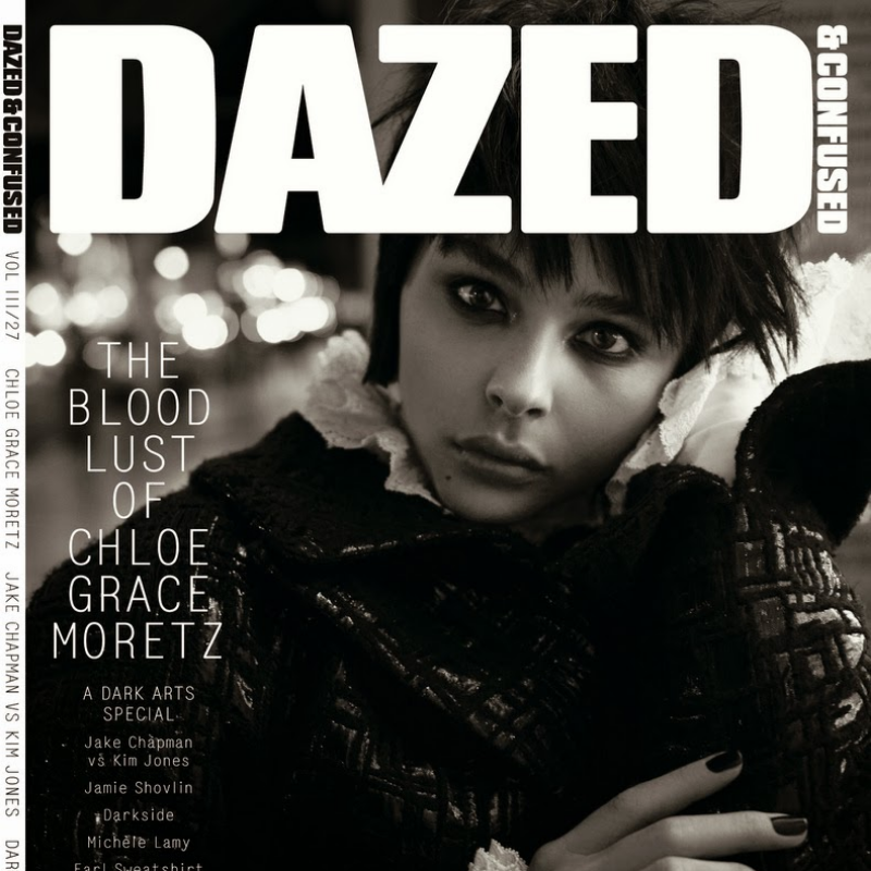 Dazed & Confused Chloe Moretz by Glen Luchford