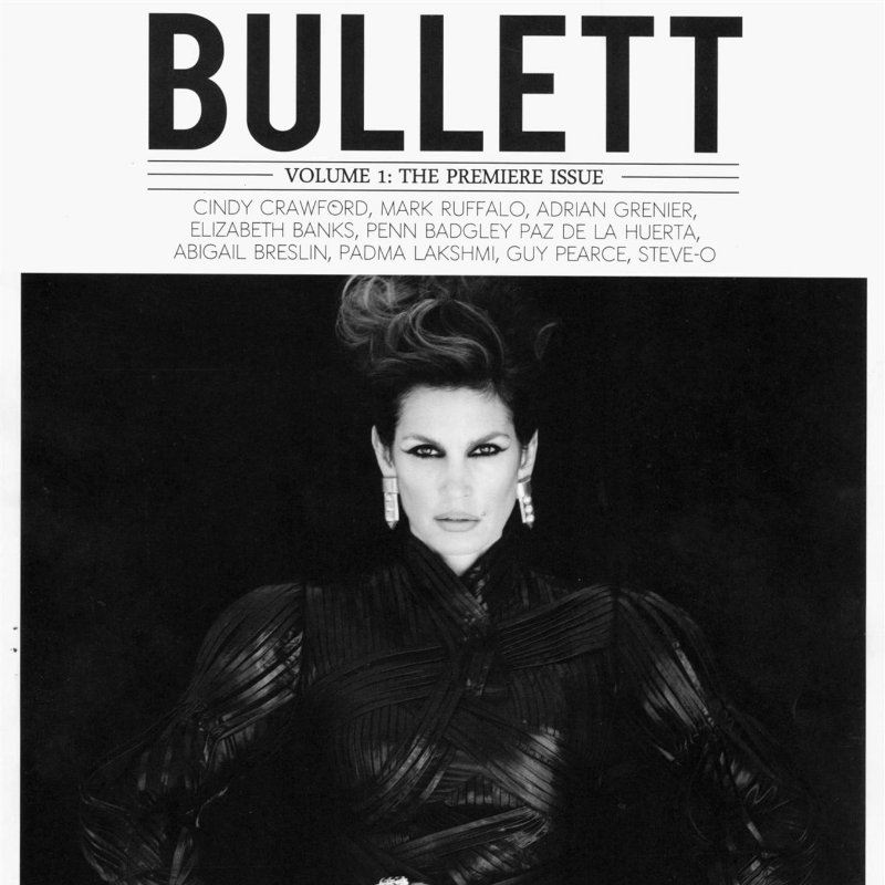 Bullett Magazine Cindy Crawford by Kayt Jones