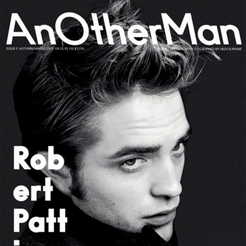 Another Magazine Robert Pattinson by Hedi Slimane