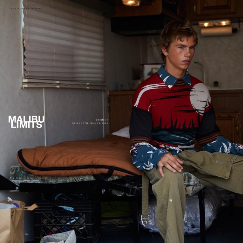 Hero Magazine Malibu Limits by Fabien Kruszelnicki