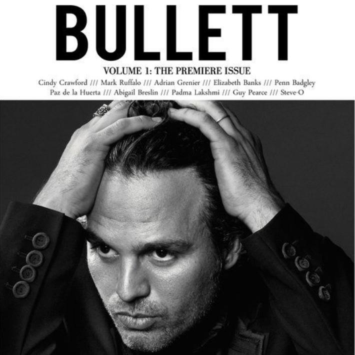 Bullett Magazine Mark Ruffalo by Gavin Bond