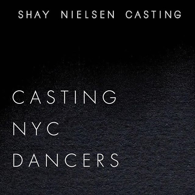 🚨NYC🚨 Hey! We are casting dancers of all backgrounds in NYC for an exciting designer collaboration. Movement performers and / or instructors, all specialties (vogueing, breaking, hip hop, modern, freestyle, jazz, krump — you name it!). Specs below 👇 - Paid gig if confirmed - Must be experienced and skilled - Must be able to work in NYC without travel compensation - Any ethnicity, any gender - 18-33 years old - Tag, DM, or email studio@shaynielsen.com