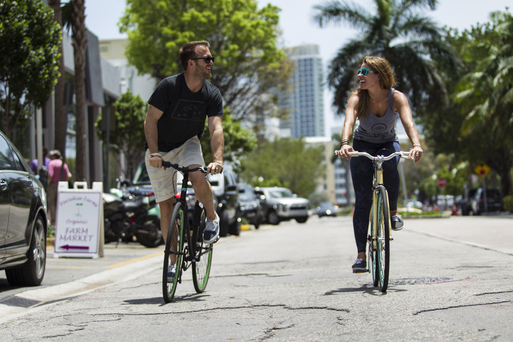 Miami Beach Bike Scene