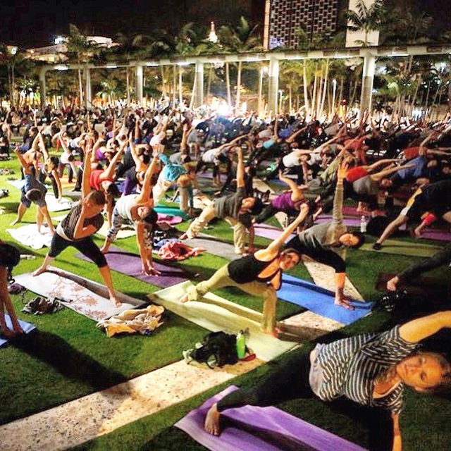 yoga nights at the new world symphony