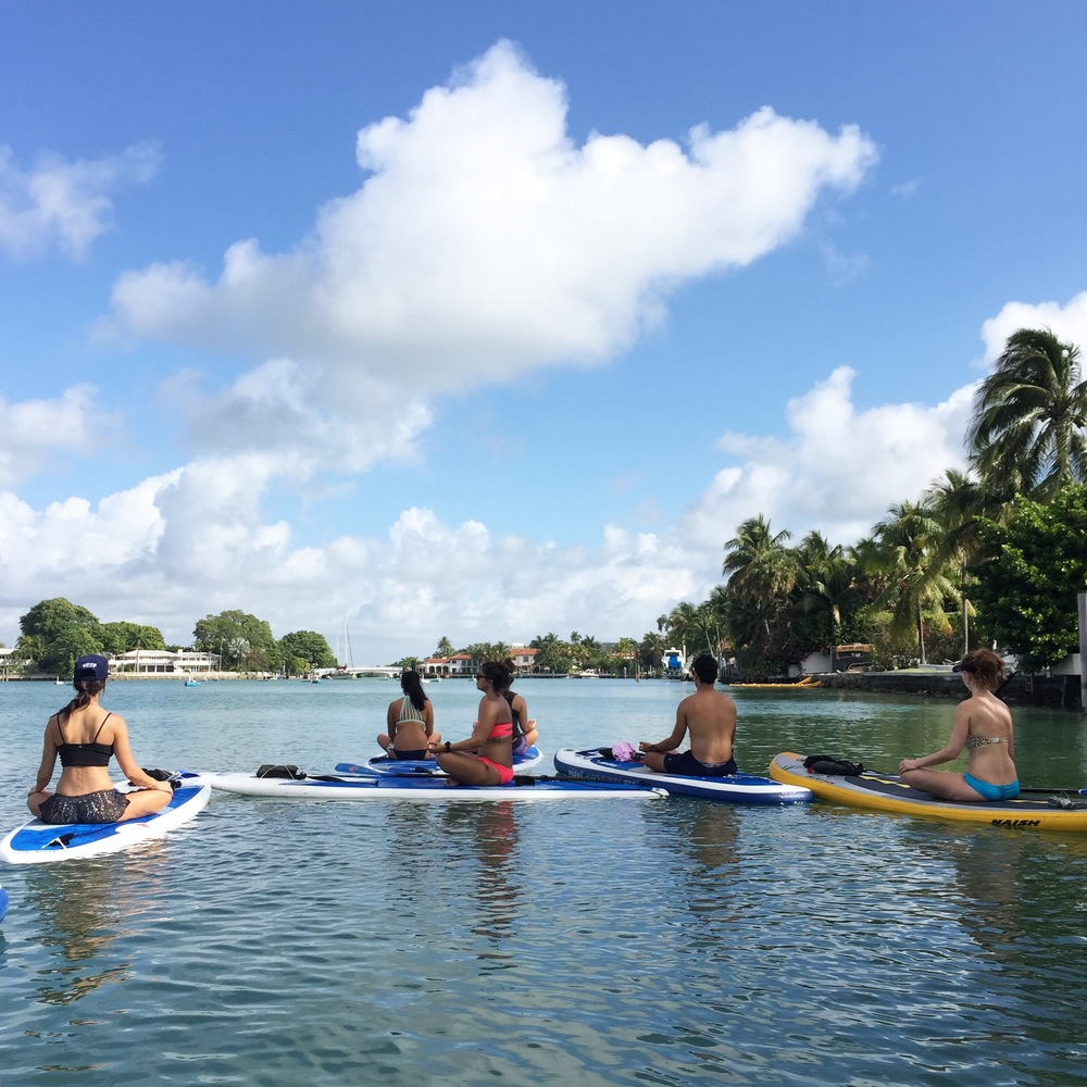 paddleboard meditations