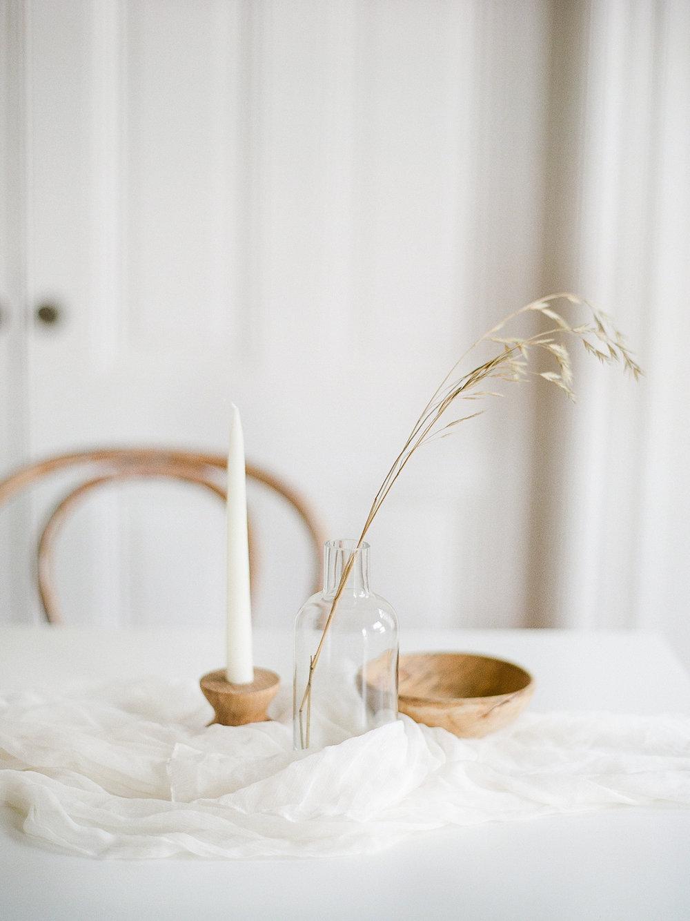 MInimalist wedding ideas