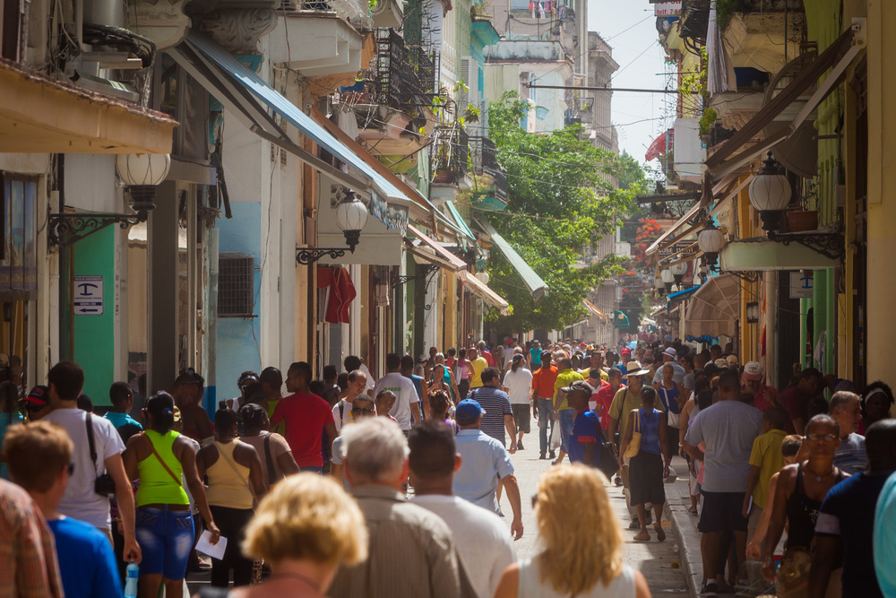 Downtown Havana on the 4th of July. 200mm f/11 1/160sed