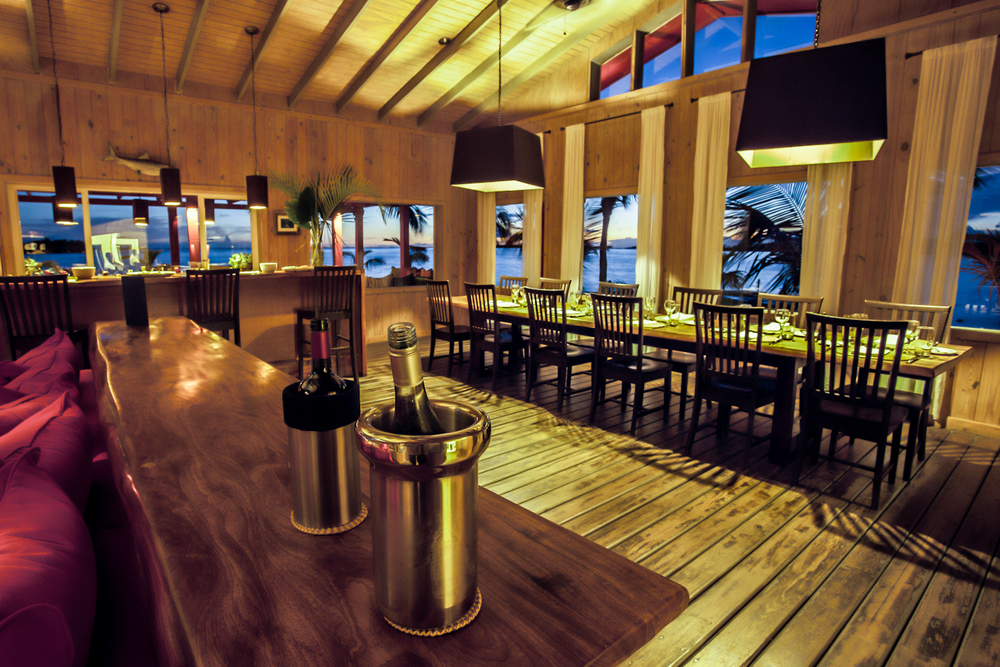 An interior HDR shot of Abaco Lodge. 17mm HDR