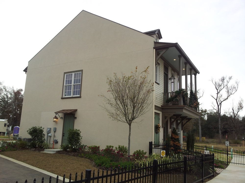 Exterior Painting - New Construction - Baton Rouge, La