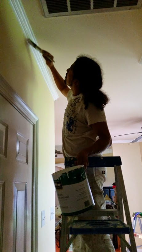 Yonny, best house painter in Baton Rouge!