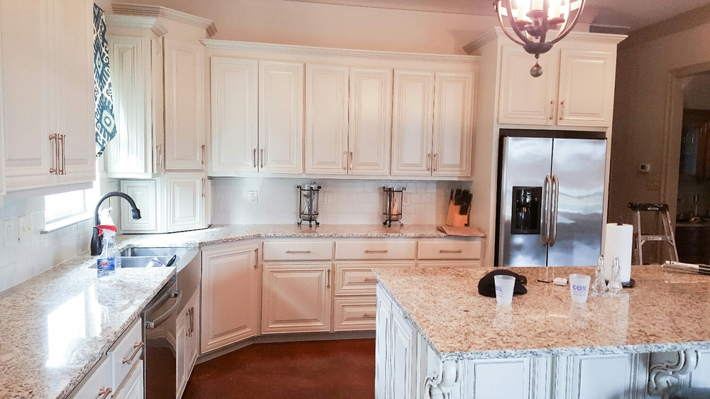 Delightful Betancourth Painting LLC Delivers A Flawless Finish To All Of Our Cabinet  Painting Projects! Sherwin