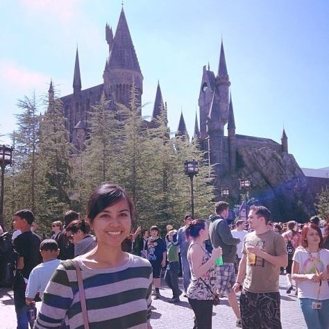 02.09.14: Had a dream come true and went to the Wizarding World of Harry Potter for the first time.