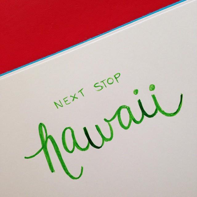 Next Stop: Hawaii by Jessica Palola