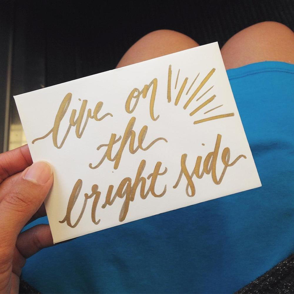 Live on the Bright Side by Jessica Palola