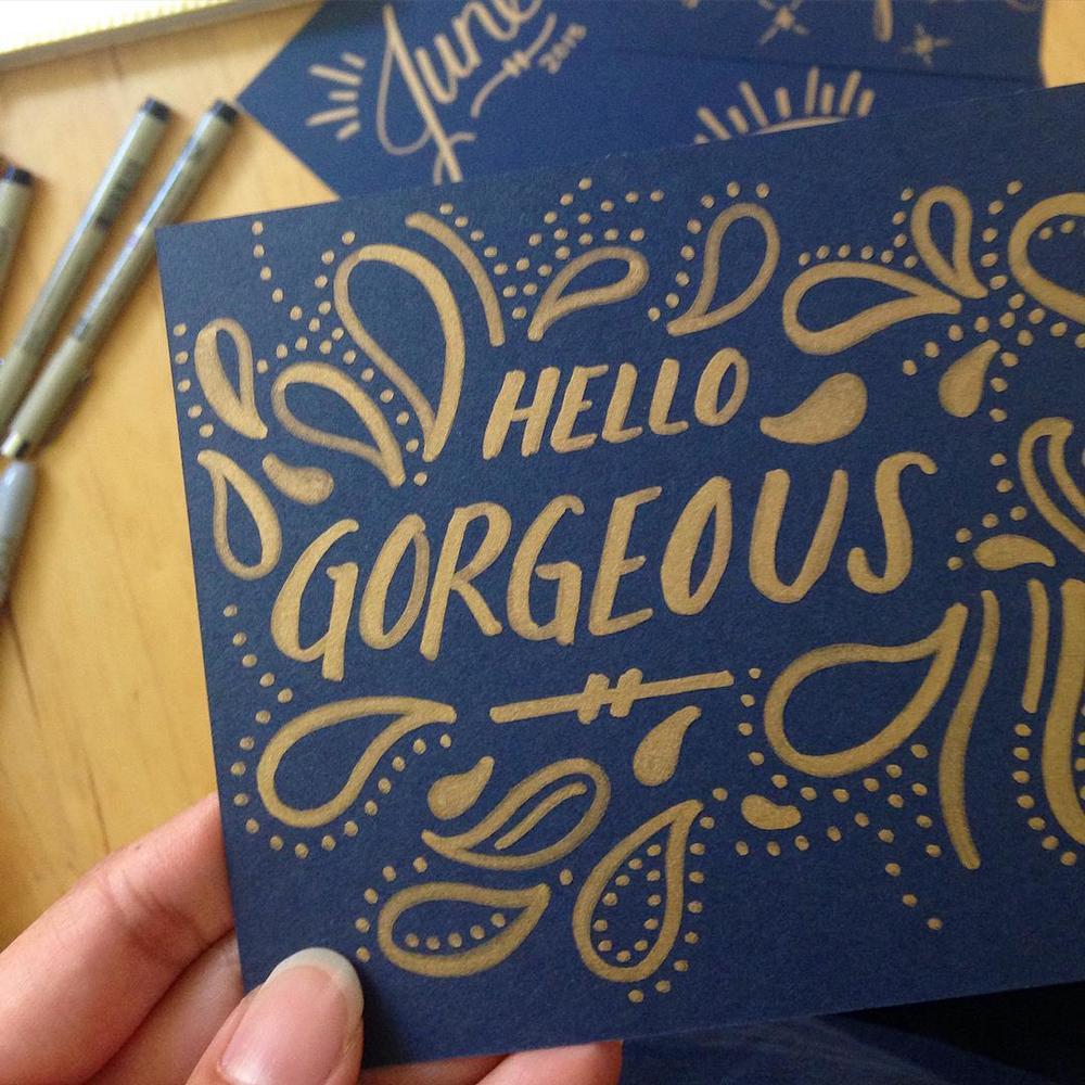 Hello Gorgeous by Jessica Palola
