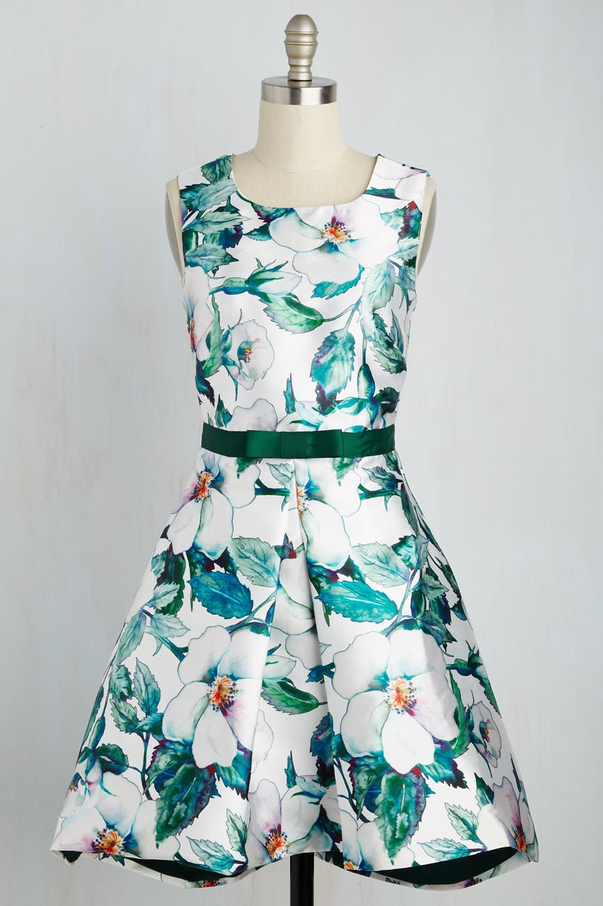 Efflorescent Oasis Dress