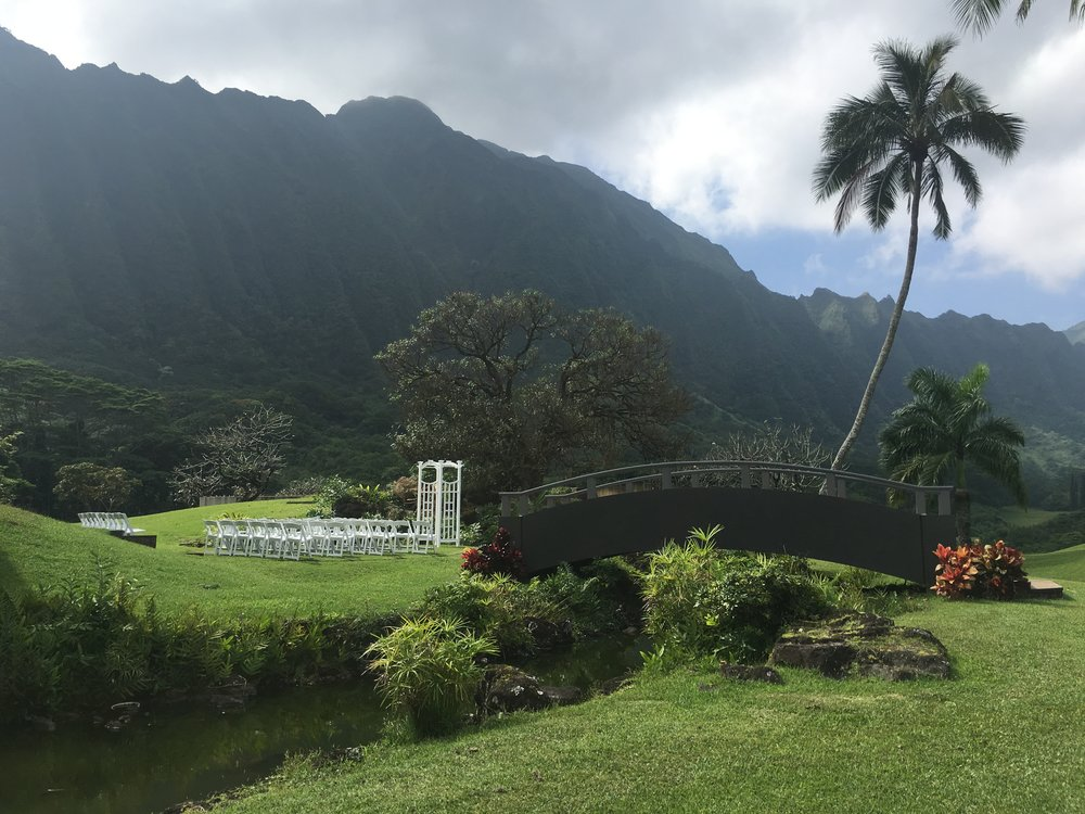 Outdoor Garden Ceremony Location
