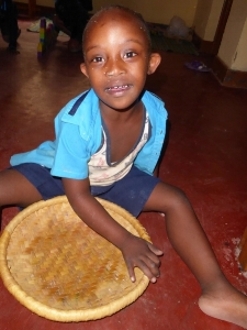 Chyusa spent most of his days in silence, spinning baskets on the floor.