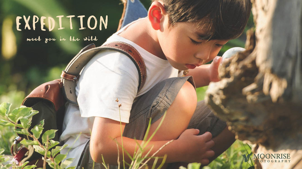 Expedition - CJ 野地遠征篇(The Twins Chelsea & Jesper 小豬小羊)  Meet you in the wild.