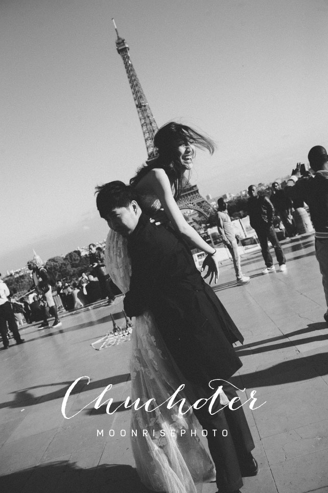 Chuchoter  < Amanda & Pon >  Paris巴黎海外婚紗  Paris is beautiful because you are here with me.