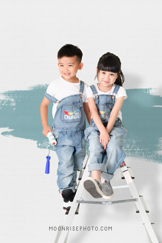 Dulux 得利塗料 小小工班體驗營 品牌活動形象 得利電腦調色漆10週年塗刷體驗活動