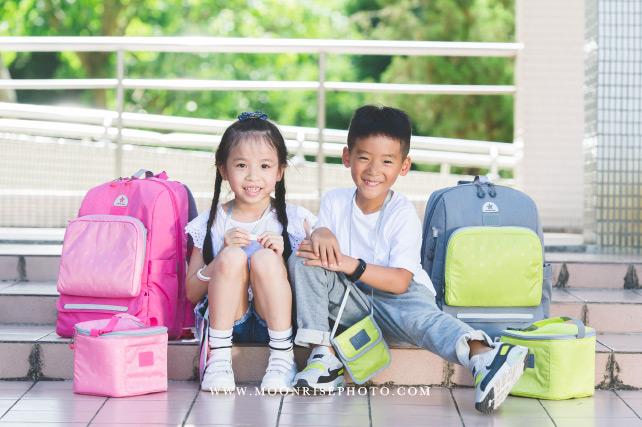 CiPU 喜舖  極輕量舒釋護脊書包   商品形象 粉紅人妻CPU x 李小妹&媽媽太太小姐 & 拉拉芽創意生活