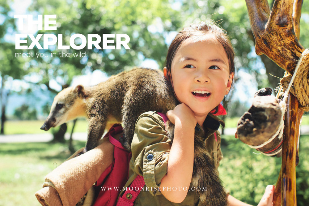 The Explorer II 小小探險家 動物篇||(Zaria Chiou)  The journey will never end.