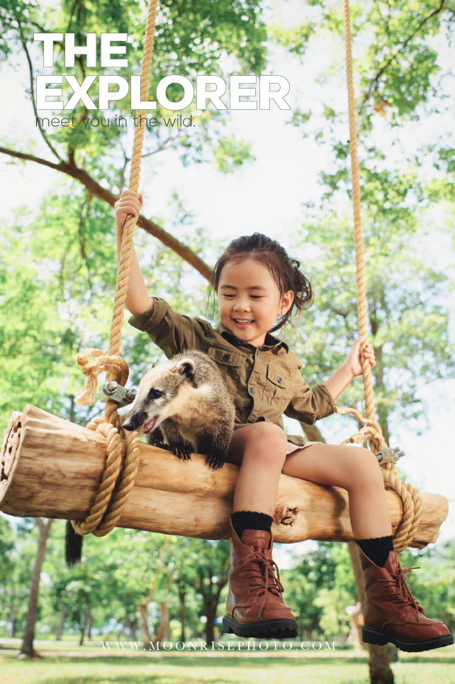 The Explorer 小小探險家-動物篇||(Zaria Chiou)  Find the wild things on planet.