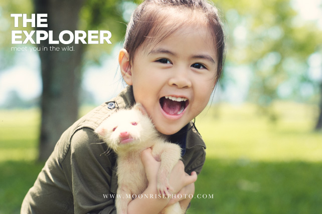 The Explorer 小小探險家-動物篇(Zaria Chiou)  Find the wild things on planet.