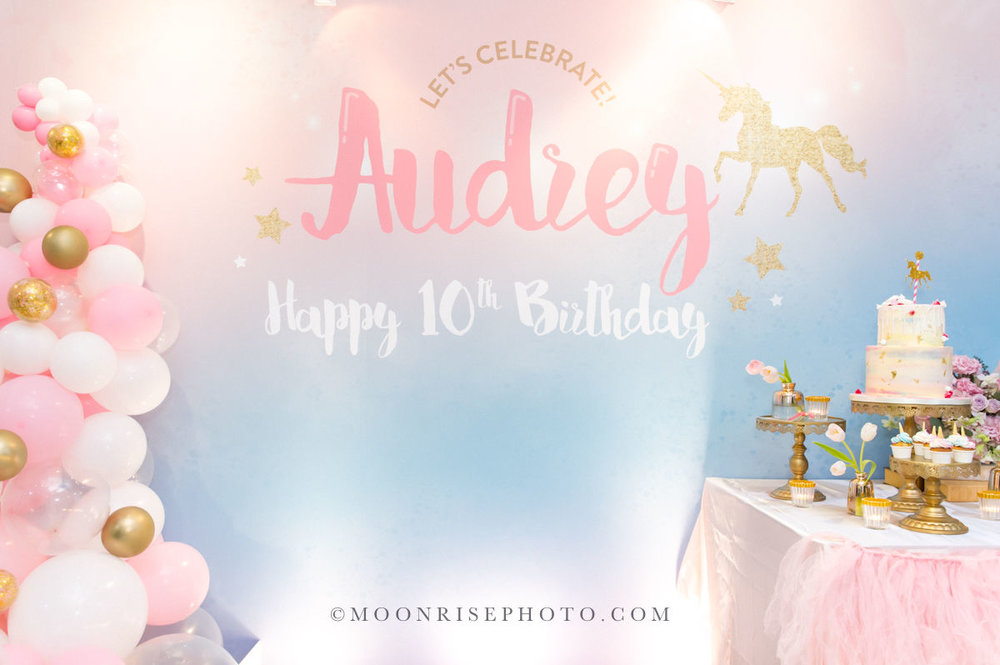 Audrey is TEN-慶生派對紀錄  May the best and loving things be some of the joy your birthday brings.