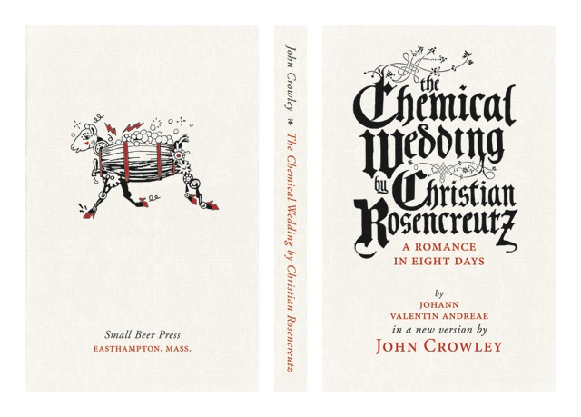 Jacob McMurray's design of the limited edition case cover for  The Chemical Wedding .
