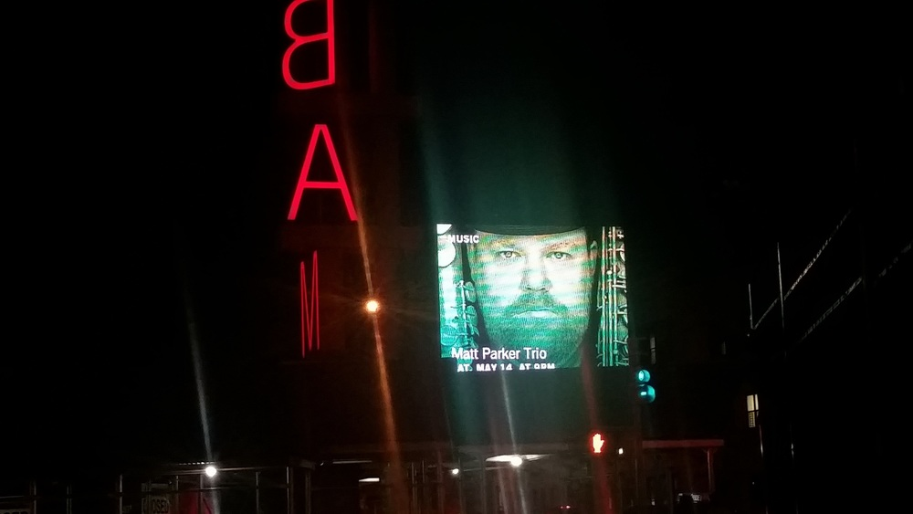 Such a treat to head down Flatbush Ave and see this on the big screen of BAM.