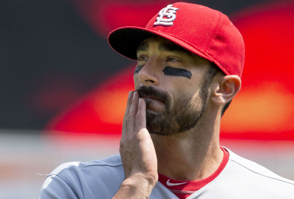 Matt Carpenter meditates upon the legacy of Earl Webb, single-season doubles king. (Keith Allison, CC BY-SA 2.0)