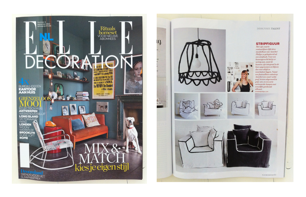 September 2013, Elle Decoration