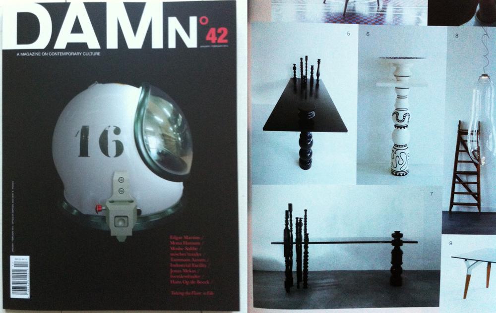January 2014, Damn Magazine