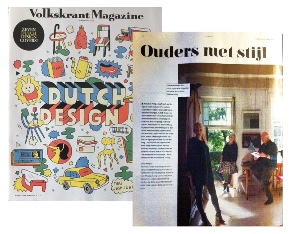 October 2013, Volkskrant Magazine