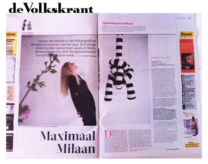 Volkskrant 2012