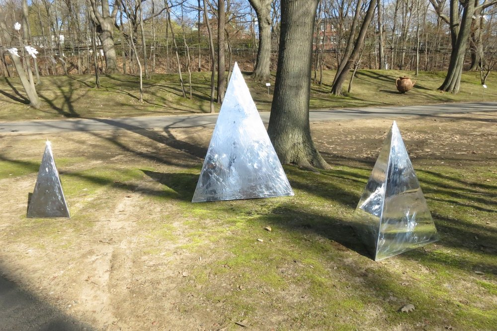 Reflective Pyramids
